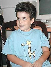 Орен Левенштейн, 6 лет