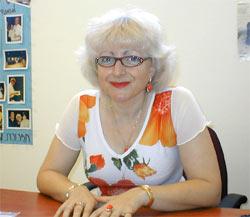 ашдодская пианистка Янина Кудлик, заведующая фортепианным отделом ашдодской консерватории