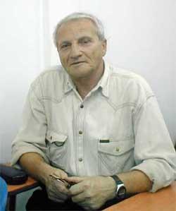Марк Зискин - ашдодский изобретатель, кандидат технических наук